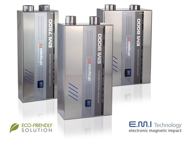 Descalcificador Dropson tecnología eco-friendly