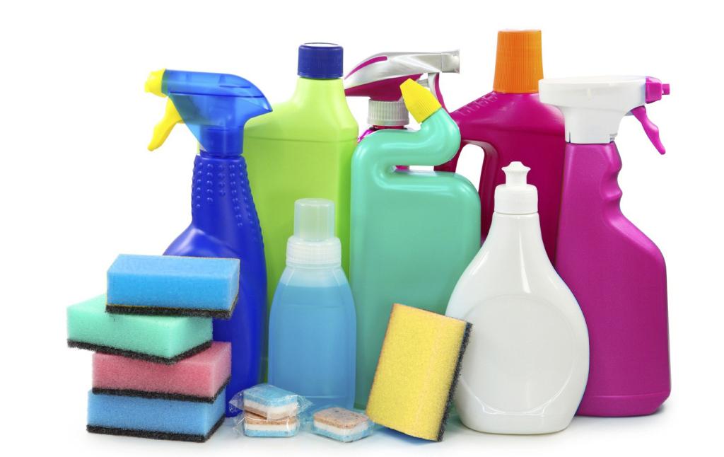 Productos contaminantes en el hogar